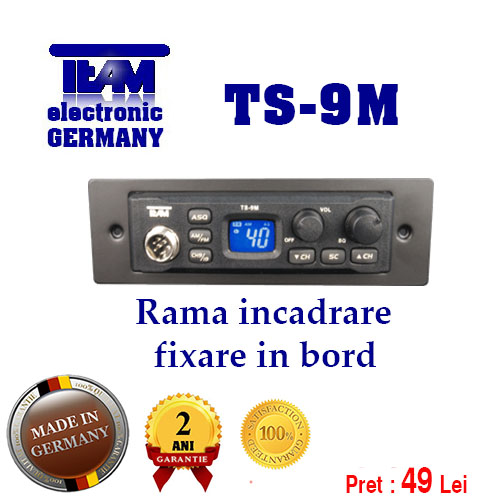 Rama fixare in bord TEAM TS-9M